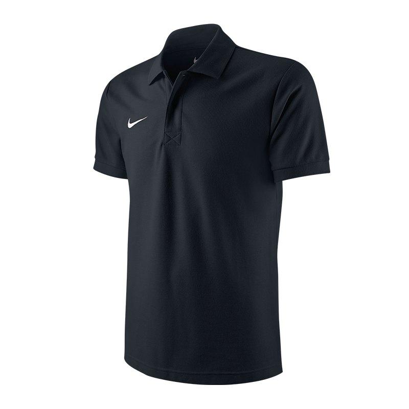 Nike TS Core Poloshirt Mens Polo Schwarz F010 - schwarz