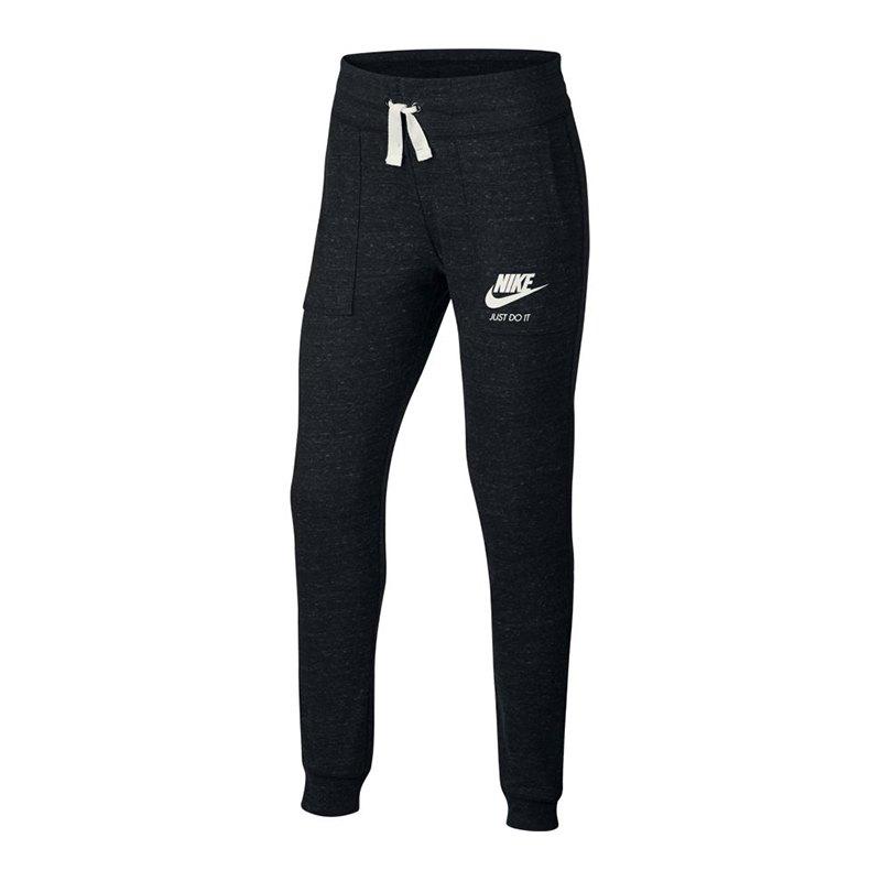 Nike Vintage Hose lang Kids Schwarz F010 - schwarz