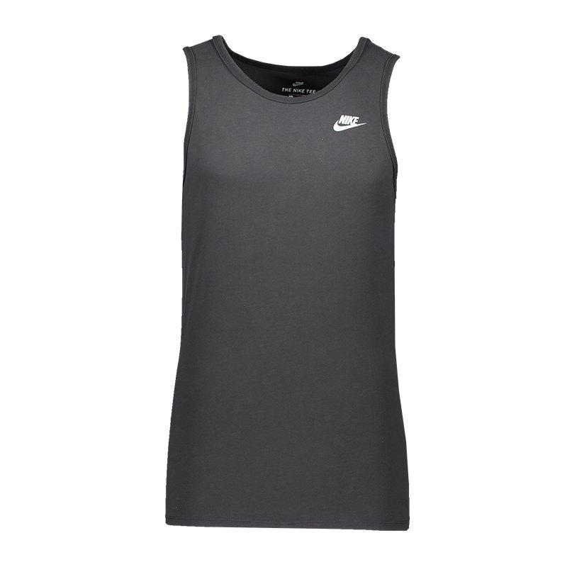 Nike Wash Pack Tanktop Grau F060 - schwarz