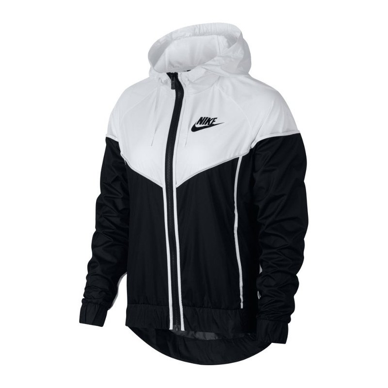 jacke damen nike windrunner jacket schwarz f011 stylejacke freizeit team streetstyle. Black Bedroom Furniture Sets. Home Design Ideas