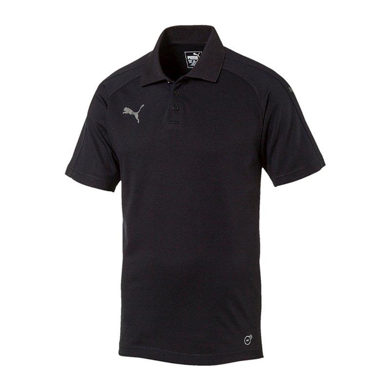 PUMA Ascension Poloshirt Schwarz F60 - schwarz