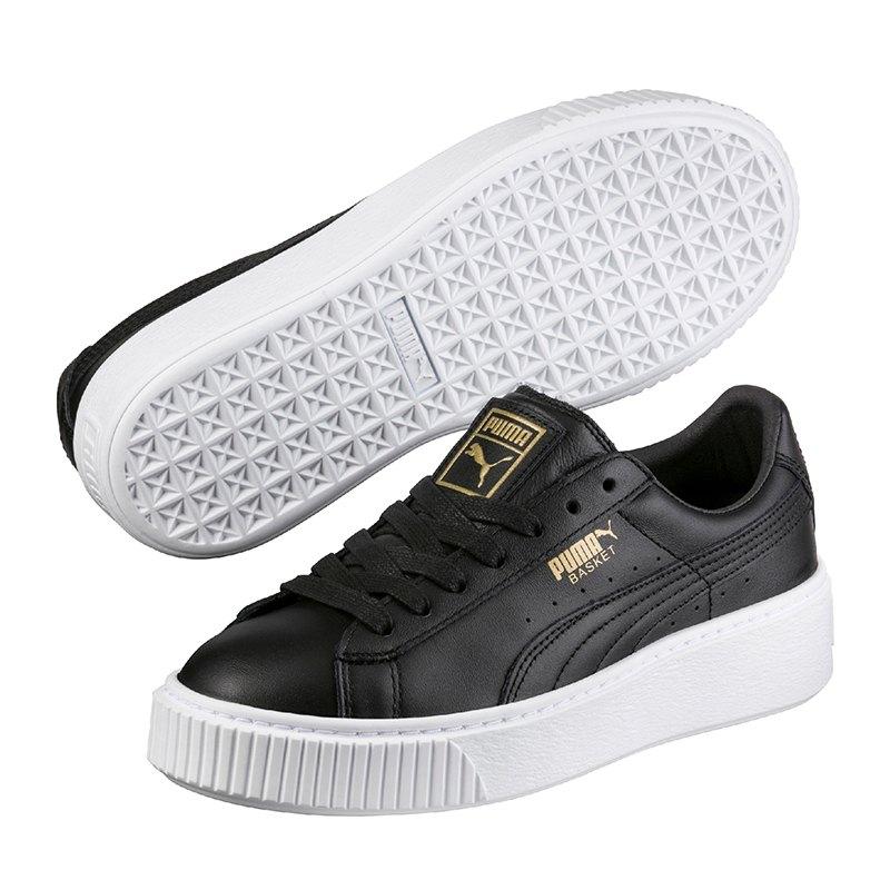 puma basket platform core sneaker damen f03 damen. Black Bedroom Furniture Sets. Home Design Ideas