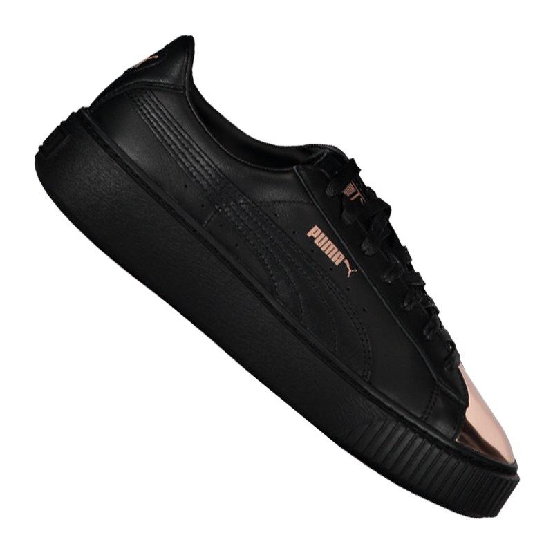 basket platform metallic sneaker damen f02 puma women. Black Bedroom Furniture Sets. Home Design Ideas