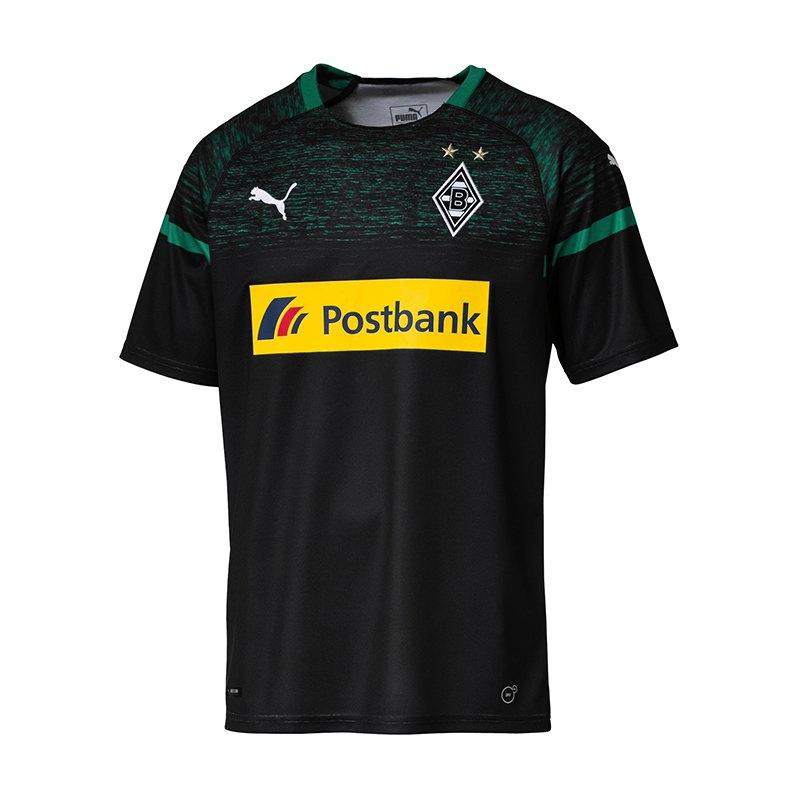 PUMA Borussia Mönchengladbach Trikot Away 2018/2019 Schwarz F02 - schwarz