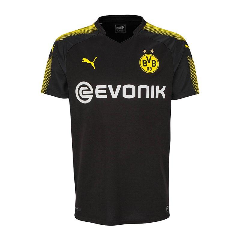 PUMA BVB Dortmund Trikot Away 17/18 Schwarz F02 - schwarz