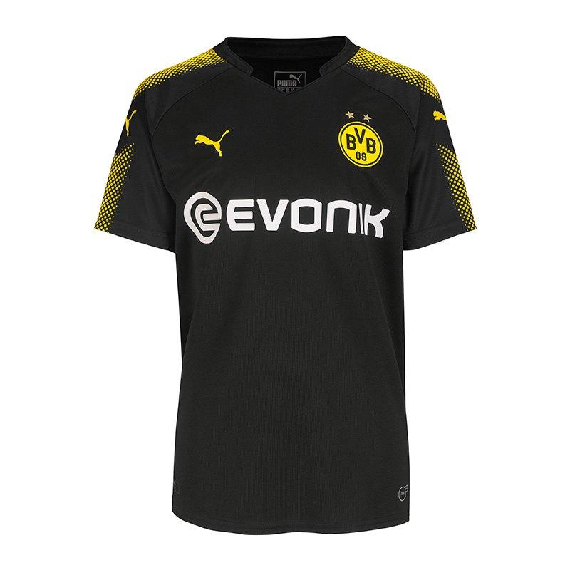 Puma Bvb Dortmund Trikot Away 1718 Kids F02