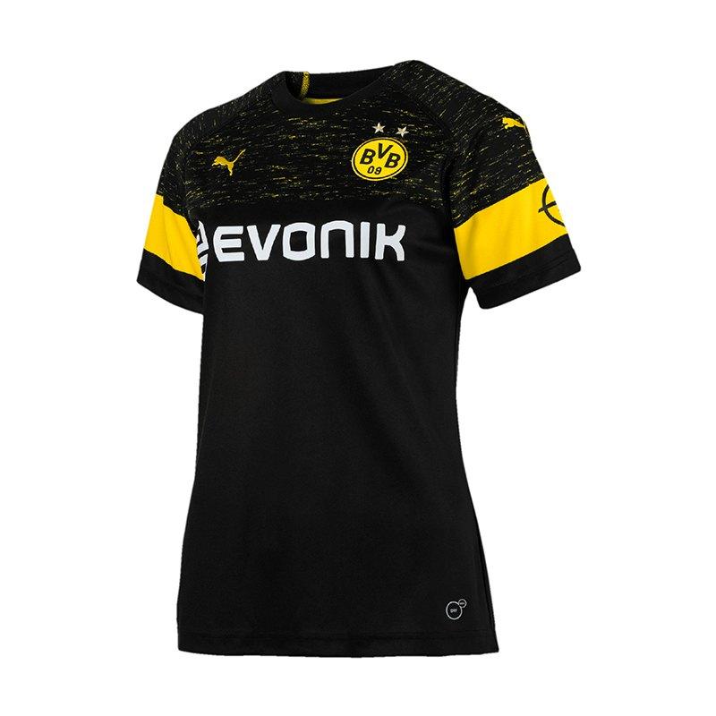 PUMA BVB Dortmund Trikot Away 2018/2019 Damen F02 - schwarz