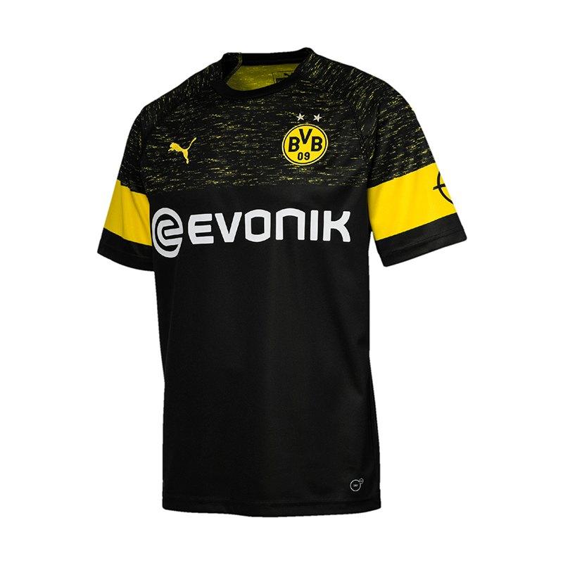 PUMA BVB Dortmund Trikot Away 2018/2019 F02 - schwarz