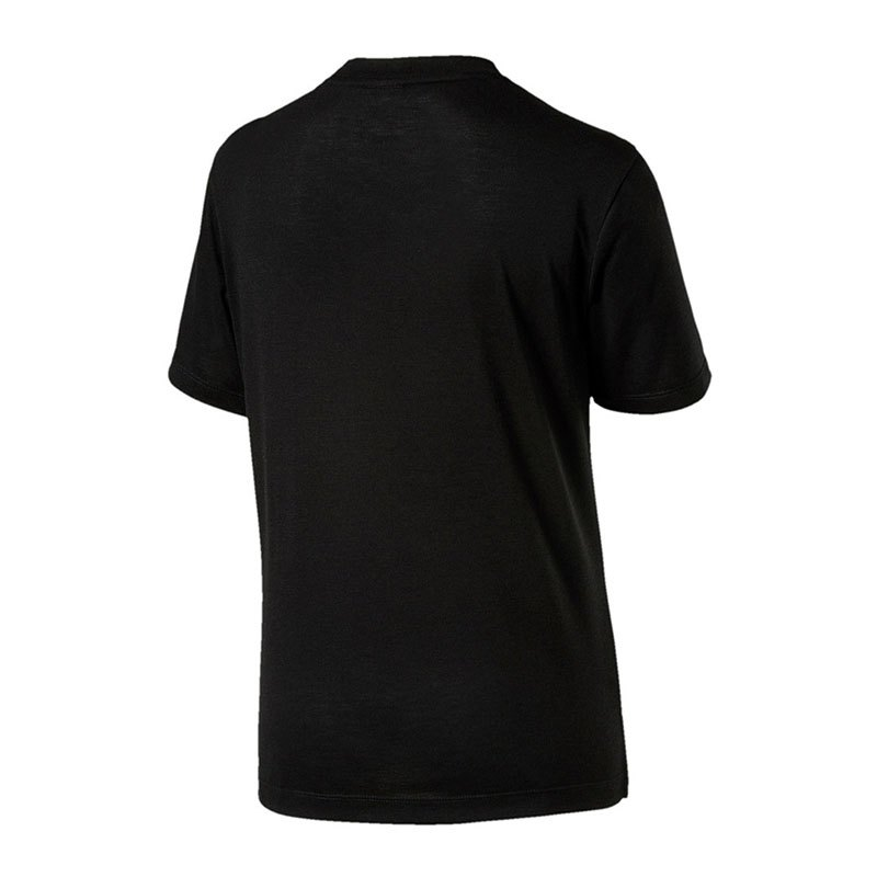 puma classics logo tee t shirt damen schwarz f01 oberbekleidung alltag freizeit. Black Bedroom Furniture Sets. Home Design Ideas
