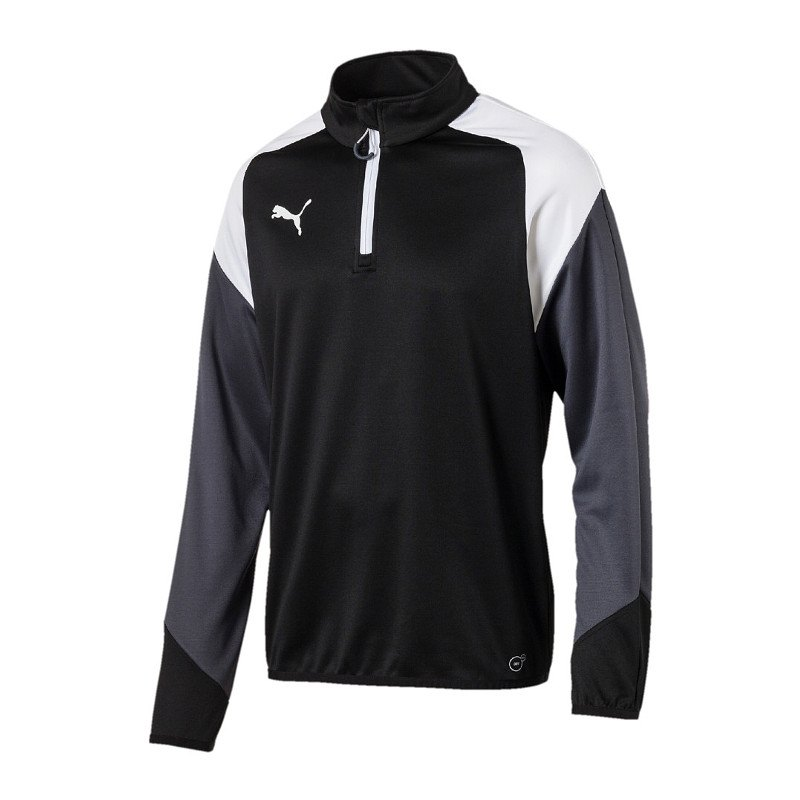 PUMA Esito 4 1/4 Zip Top Training Kids Schwarz F03 - schwarz