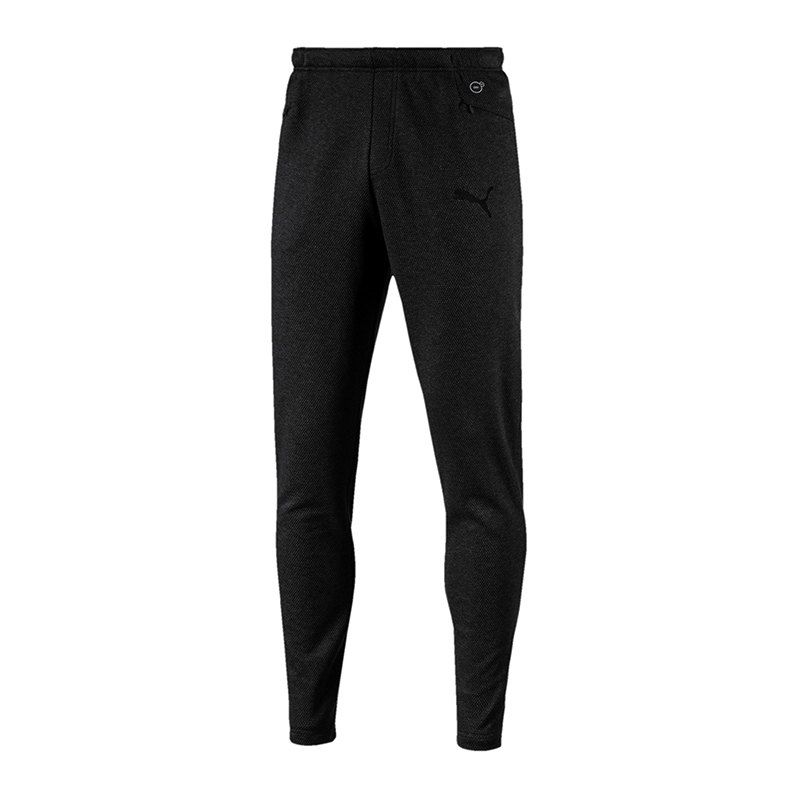 PUMA FINAL Casuals Sweat Pant Hose Schwarz F03 - schwarz