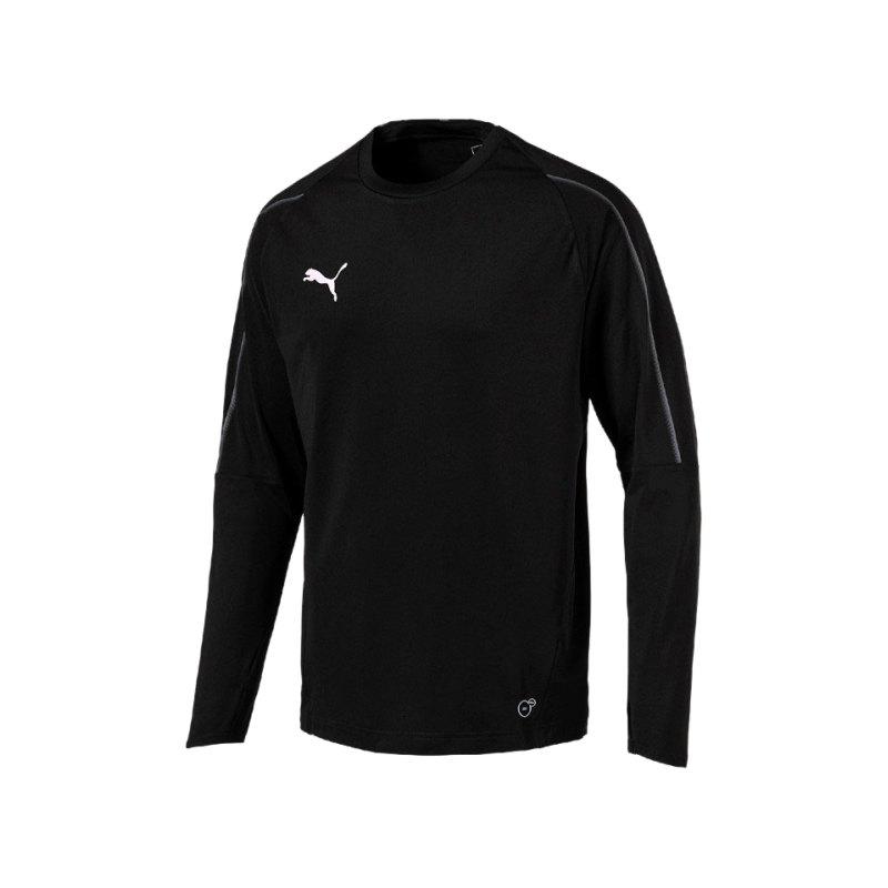 PUMA FINAL Training Sweatshirt Schwarz F03 - schwarz