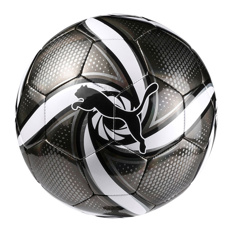 PUMA FUTURE Flare Trainingsball Schwarz Weiss F03 - schwarz