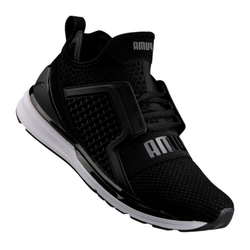 PUMA Ignite Limitless Weave Sneaker Schwarz F02 - schwarz