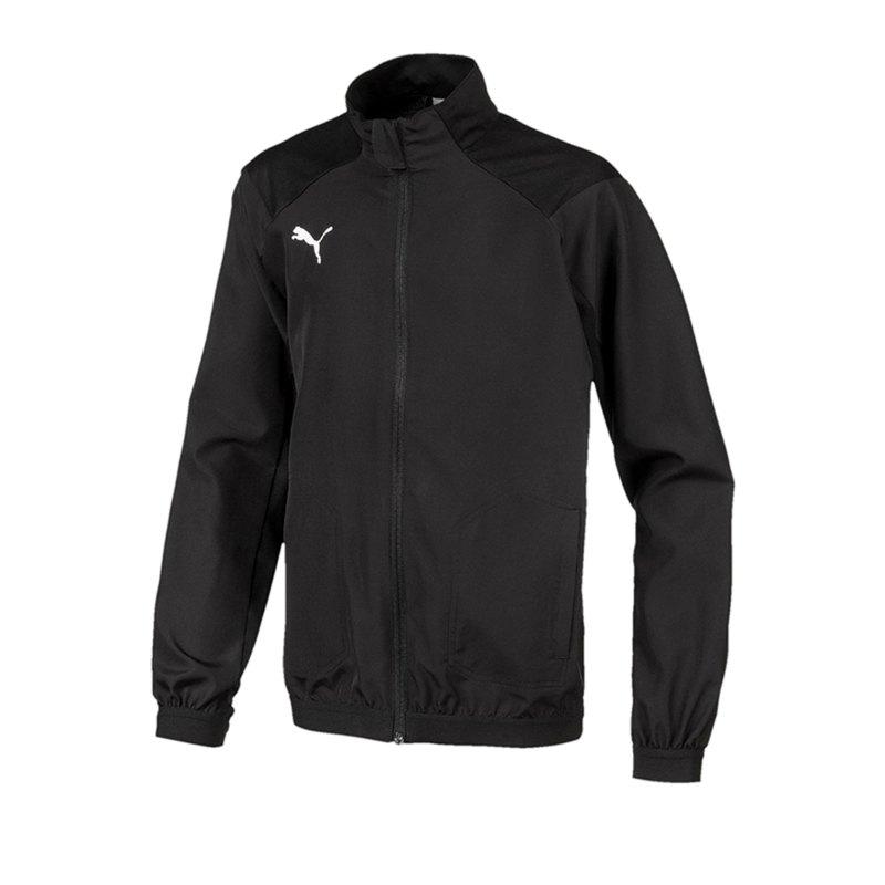 PUMA LIGA Sideline Jacke Jacket Kids Schwarz F03 - schwarz