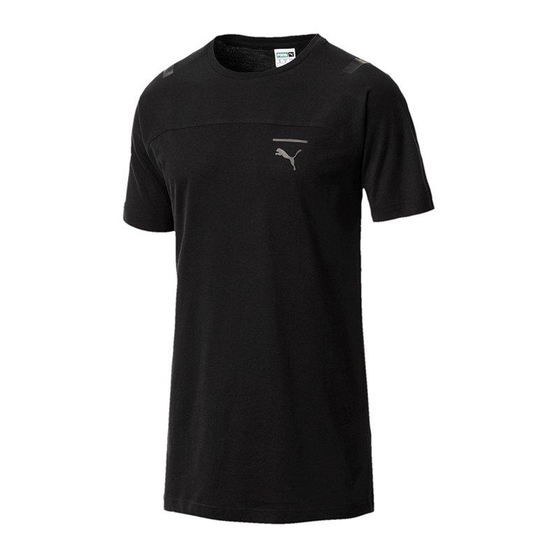 PUMA Pace Tee T-Shirt Schwarz F01 - schwarz