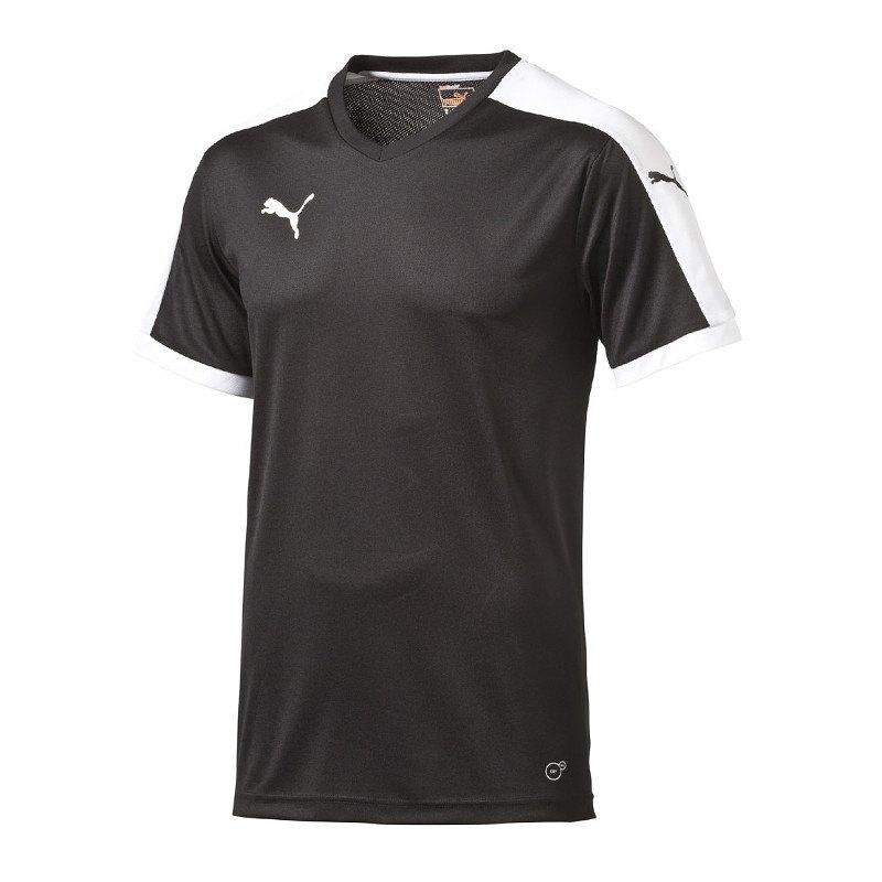 PUMA Pitch Shortsleeved Shirt Trikot Schwarz F03 - schwarz