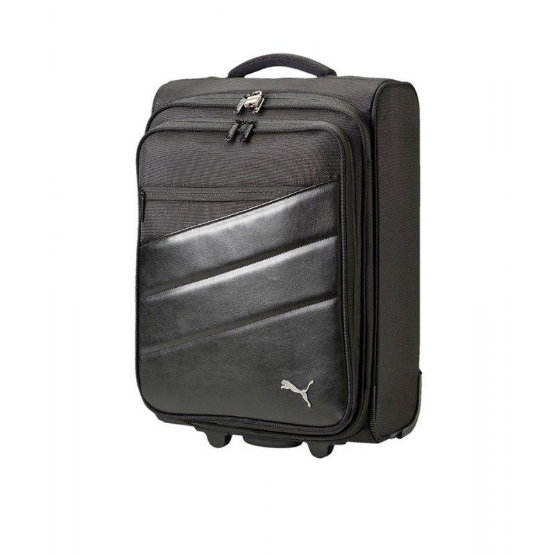 PUMA Team Trolley Bag Koffer Schwarz F01 - schwarz