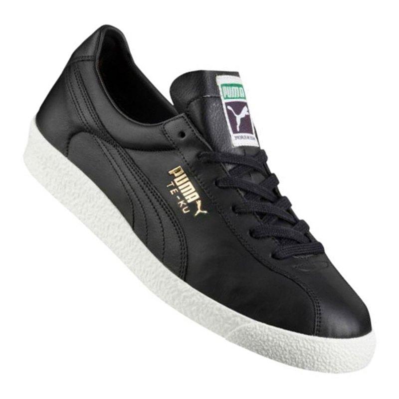 PUMA Teku Core Sneaker Schwarz Weiss F01 - schwarz