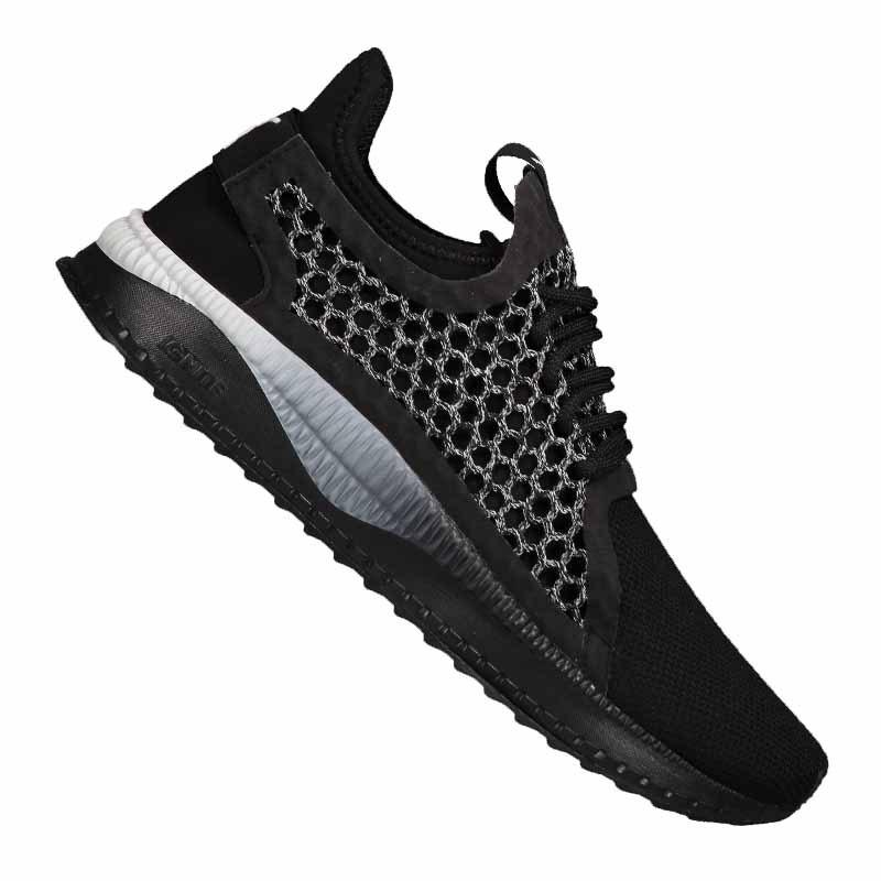 32b2f8f27fce PUMA Tsugi Netfit v2 Sneaker Schwarz Weiss F02   Streetwear ...