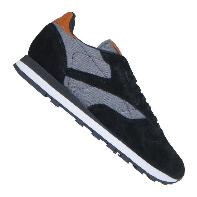 Reebok Classic Leather CH Sneaker Schwarz Weiss - schwarz