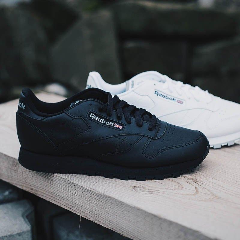 181d8e4525f6 ... Reebok Classic Leather Sneaker Damen Schwarz - schwarz ...