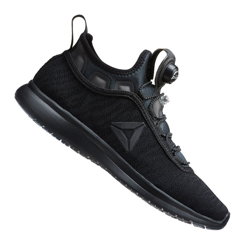 Reebok Pump Plus Flame Sneaker Damen Schwarz - schwarz