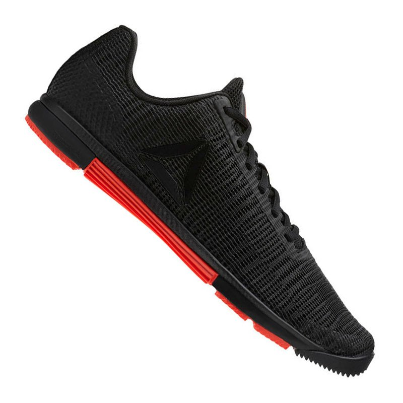 Reebok Speed TR Flexweave Training Schwarz Rot - schwarz