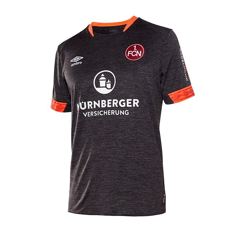 Umbro 1. FC Nürnberg Trikot 3rd 2018/2019 Schwarz - schwarz