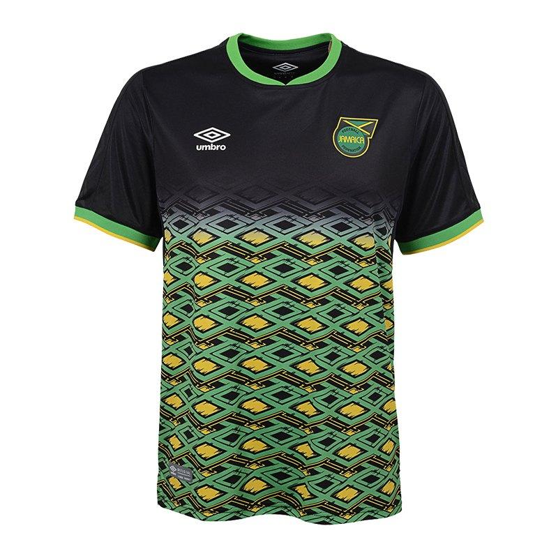 Umbro Jamaica Trikot Away 2018 Schwarz F060 - schwarz