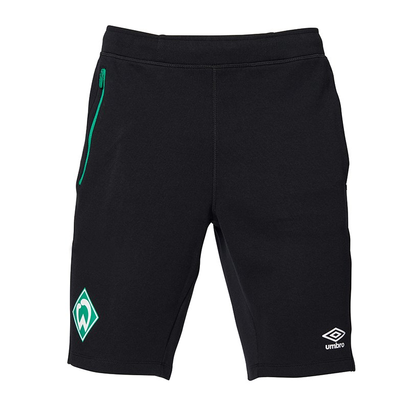 Umbro SV Werder Bremen Woven Short Kids FGTQ - schwarz
