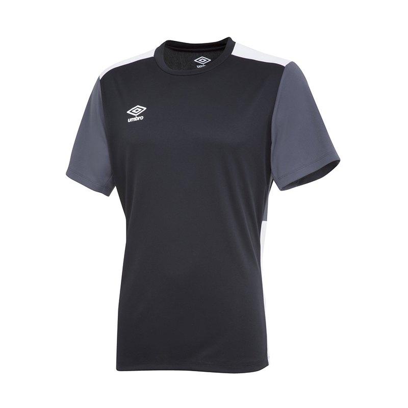 Umbro Training Poly Tee T-Shirt Schwarz F6BW - schwarz