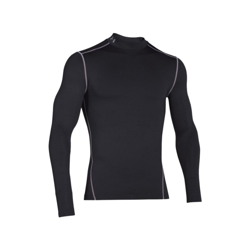 Under Armour Coldgear Compression Mock F001 - schwarz