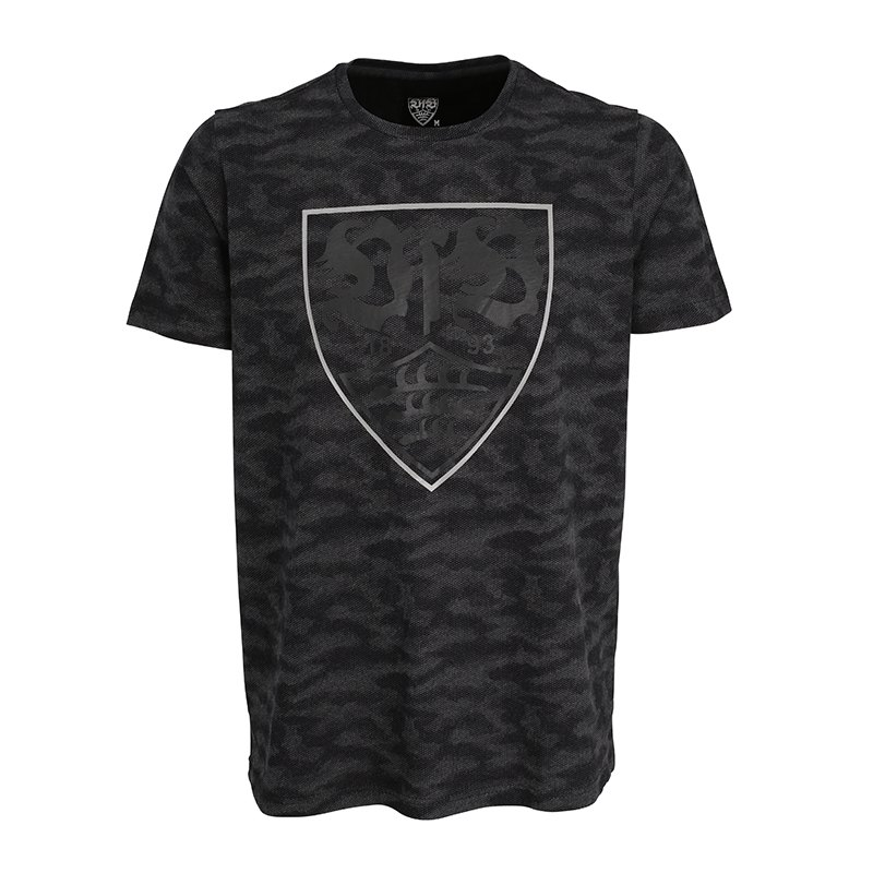vfb stuttgart t shirt camouflage schwarz training ausstattung merchandise soccer. Black Bedroom Furniture Sets. Home Design Ideas