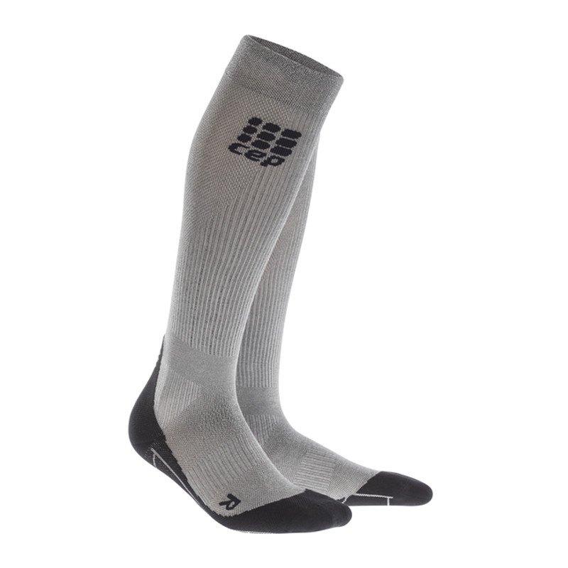 CEP Metalized Socks Socken Running Damen Silber - silber