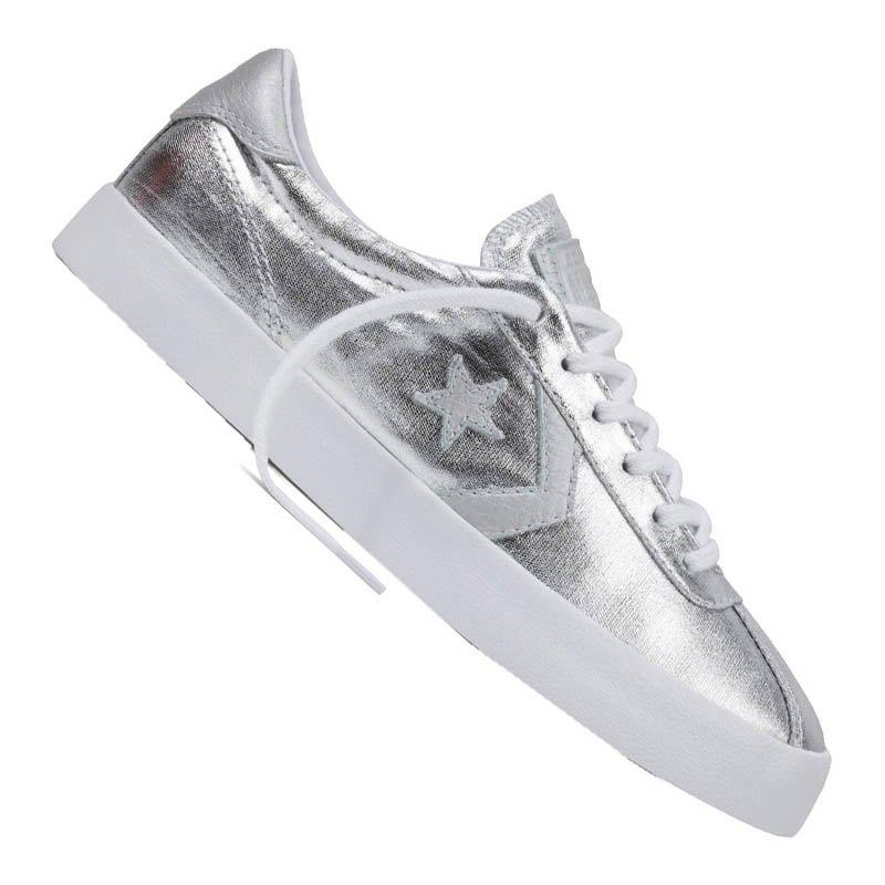Converse Breakpoint Sneaker Damen Silber - silber