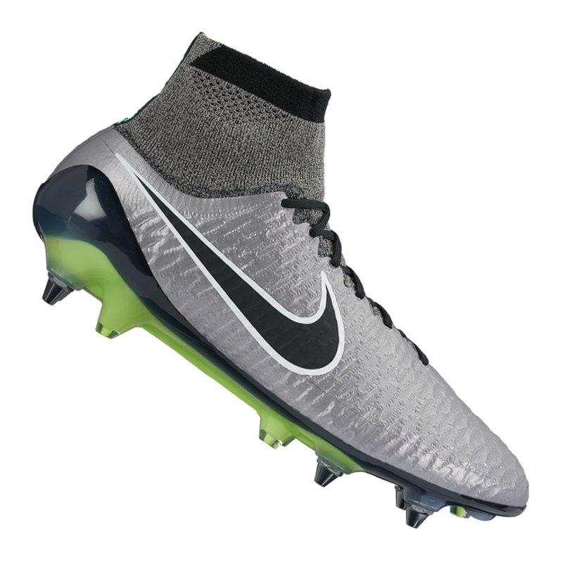 Nike Magista Obra SG Pro Silber Schwarz F010 - silber
