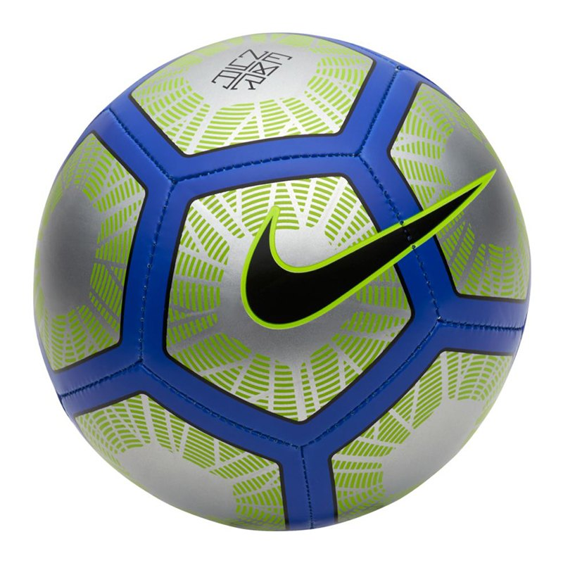 Nike Neymar Skills Football Fussball Silber F012 - silber