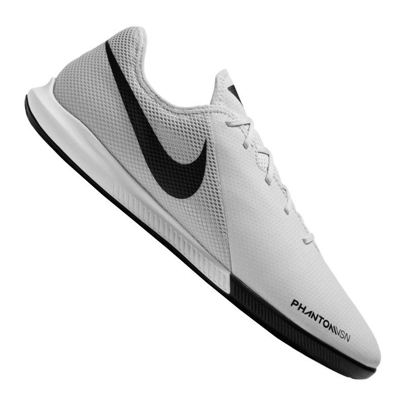 Nike Phantom Vision Academy IC Silber F060 - silber