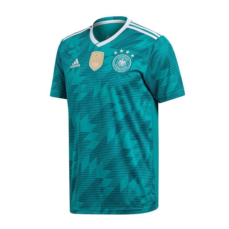 adidas DFB Deutschland Trikot Away Kids WM18 Türkis - tuerkis