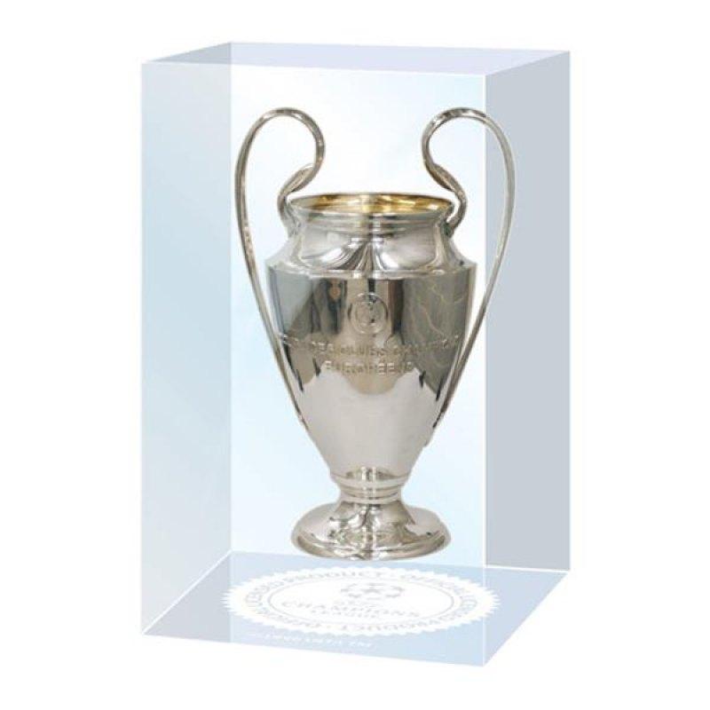 UEFA CL Pokal Acryl Silber - silber