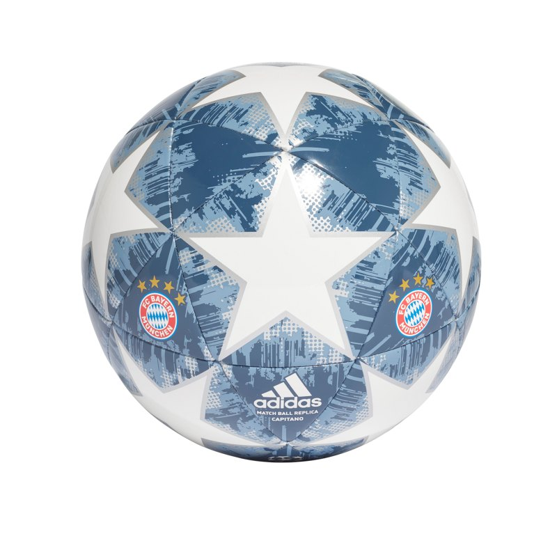 adidas Bayern München Finale18 Competition Weiss - weiss