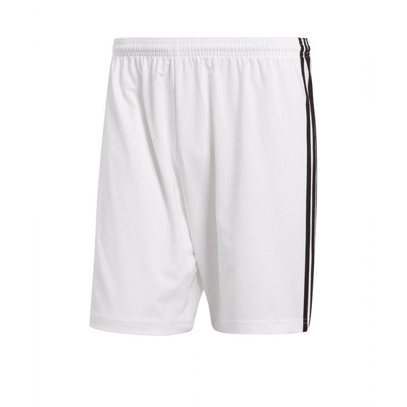 adidas Condivo 18 Short Hose kurz Weiss Schwarz - weiss