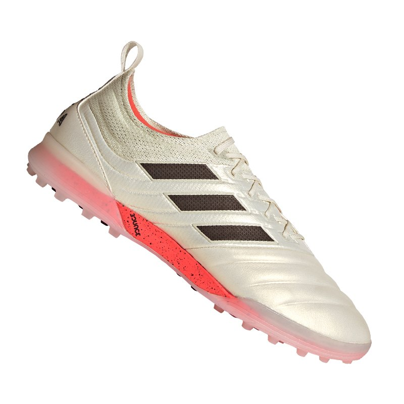 adidas COPA 19.1 TF Weiss Rot - weiss