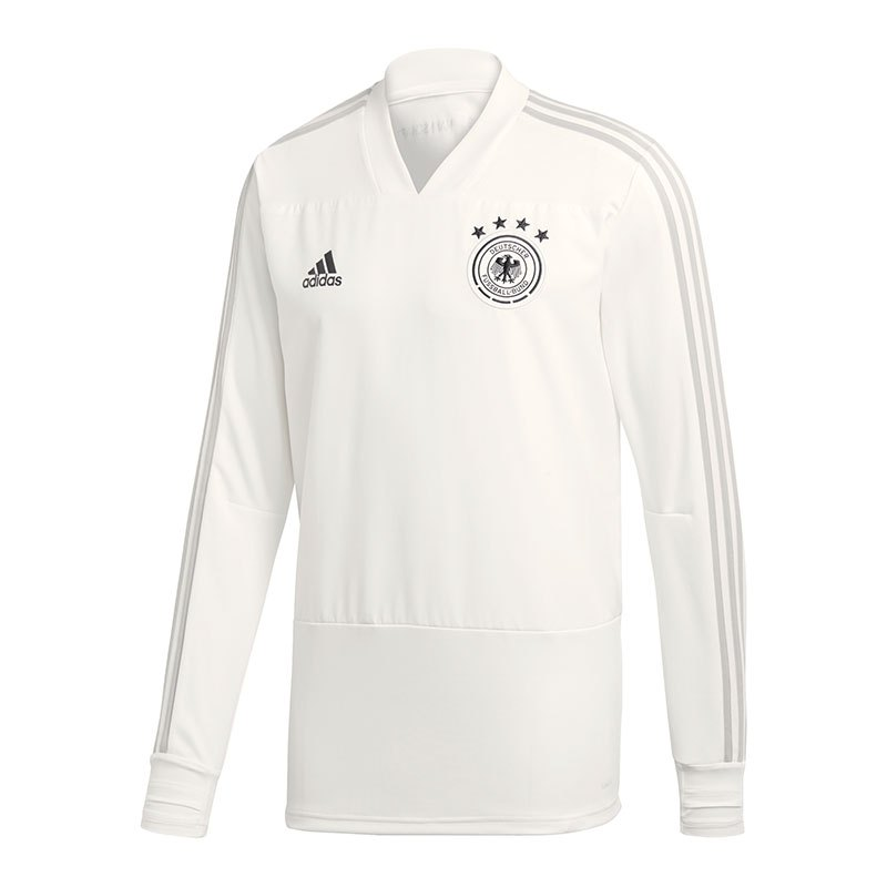 adidas DFB Deutschland Trainingstop Weiss - weiss