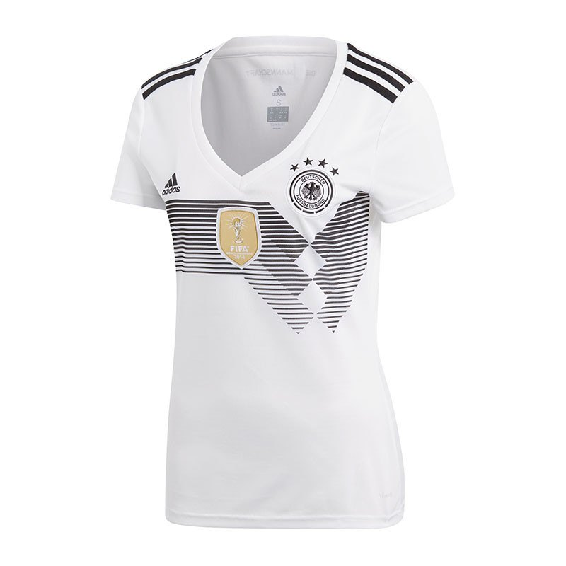 adidas DFB Deutschland Trikot H WM18 Damen Weiss - weiss