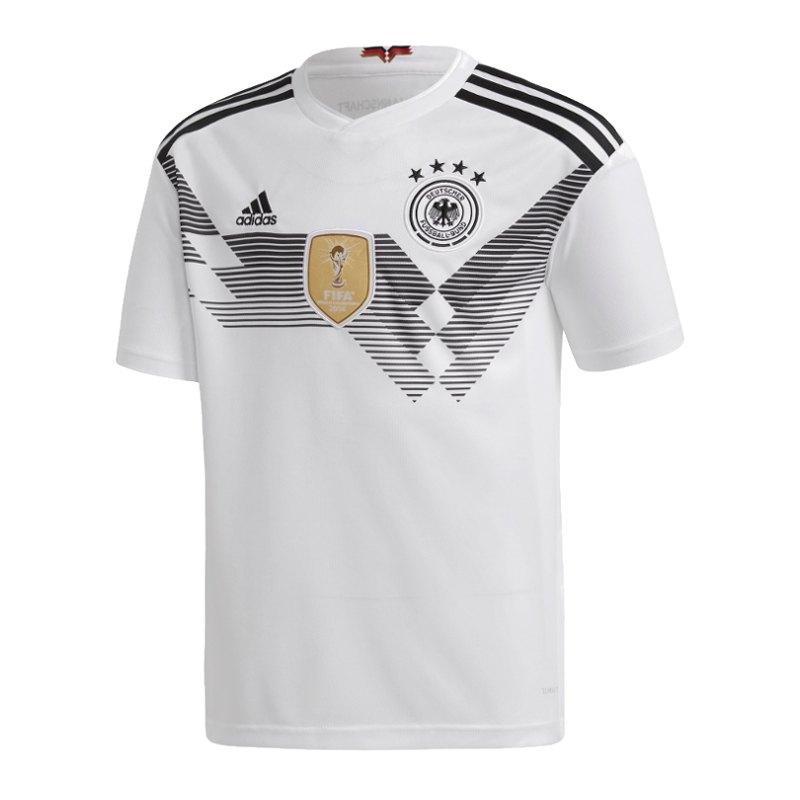 adidas DFB Deutschland Trikot Home Kids WM18 Weiss - weiss