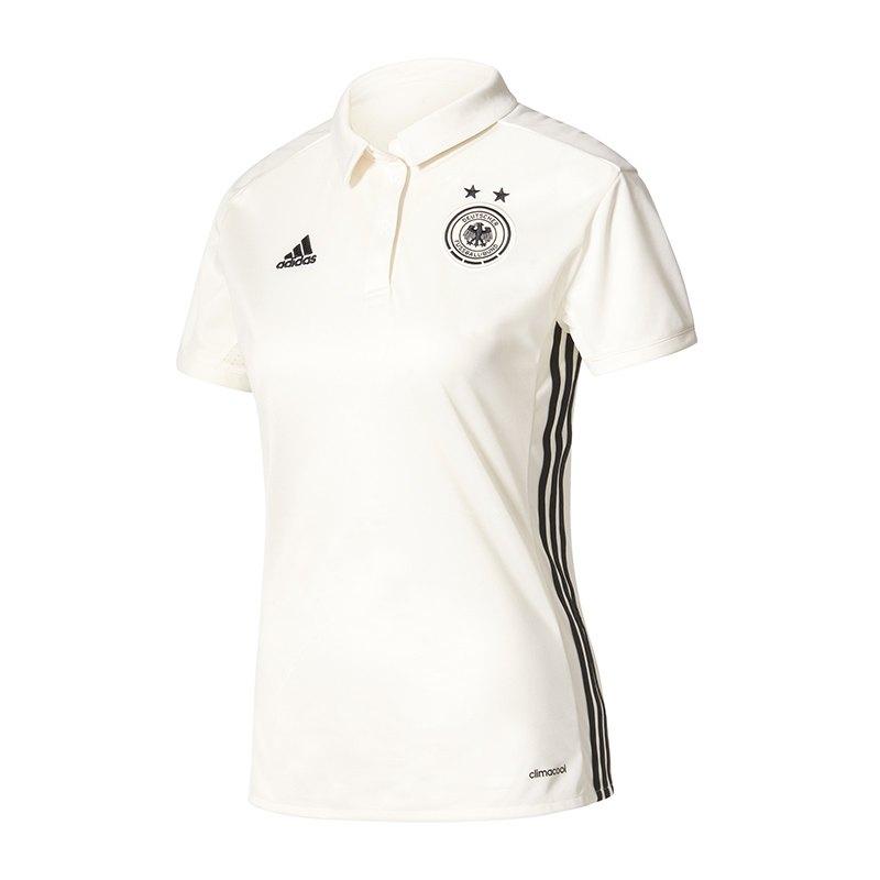 adidas DFB Deutschland Trikot Home Player Damen 17 - weiss