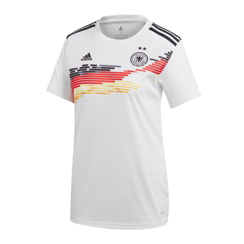 adidas DFB Deutschland Trikot Home WM 2019 Damen Weiss - weiss