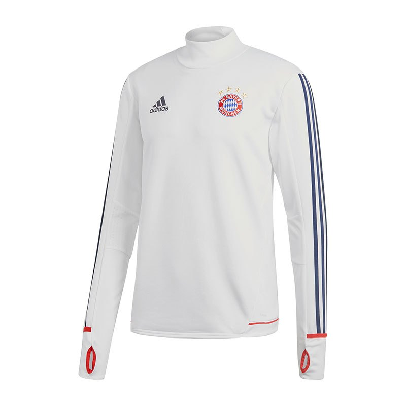 adidas fc bayern m nchen trainingstop rot weiss. Black Bedroom Furniture Sets. Home Design Ideas